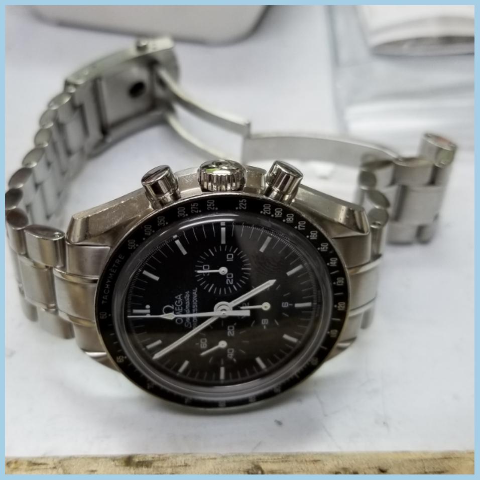 sale retailer 884c8 a4cf5 オメガ[スピードマスタープロフェッショナル] 中留のばね修理 ...
