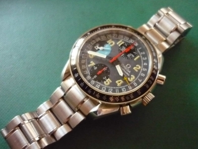 competitive price f5e98 f6bab オメガ スピードマスター トリプルカレンダー AMPM Cal.1151 ...