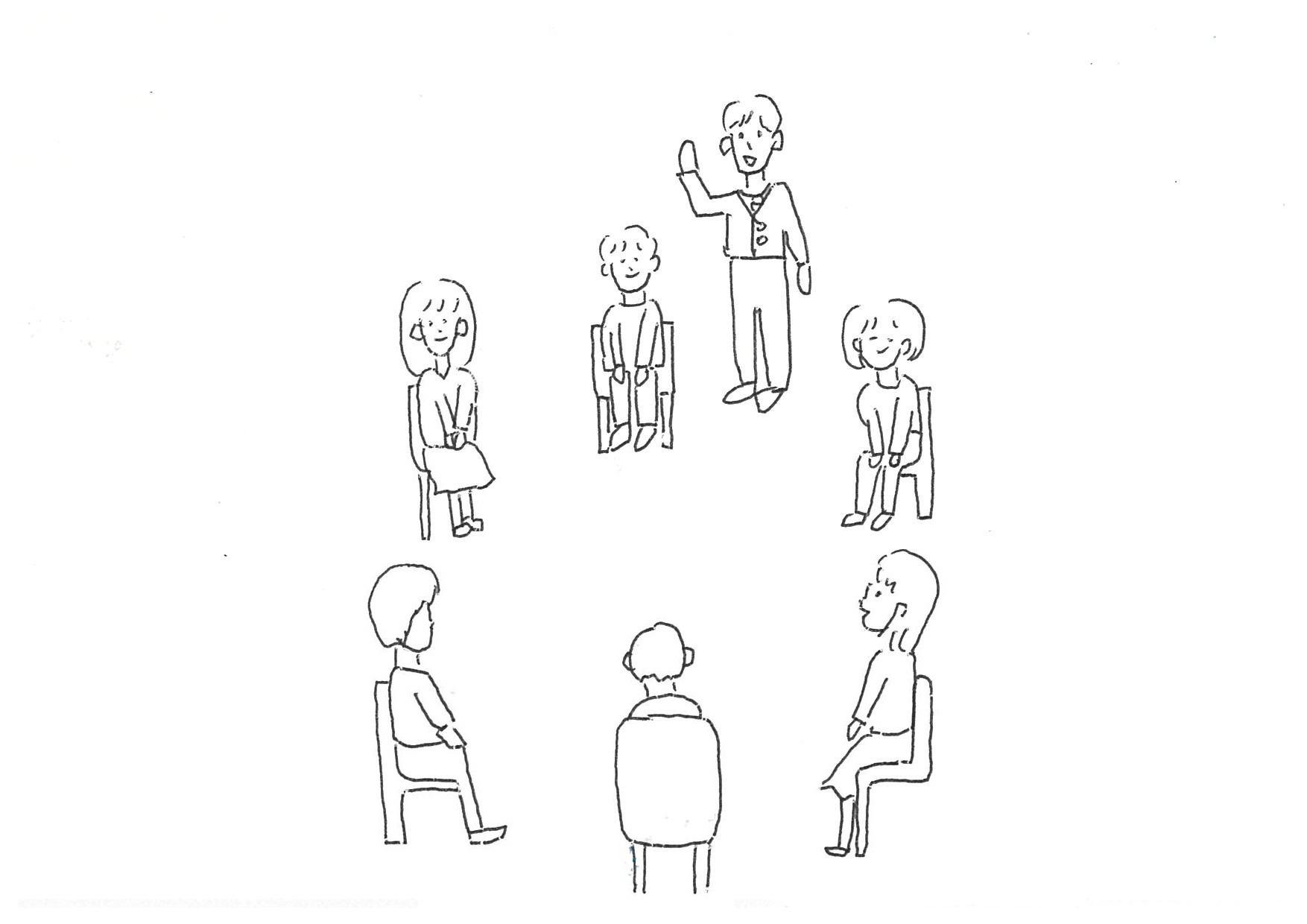 種類 座り 方